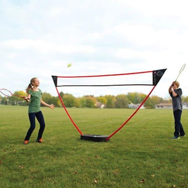 portable badminton set