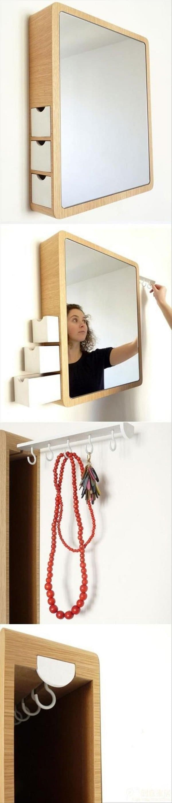 precious storage mirror