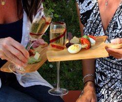 puzzle food platters wine