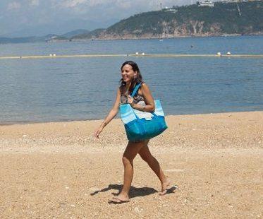 sand free beach bag tote
