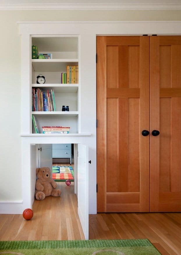 Secret Passageway Connecting Kids Bedrooms
