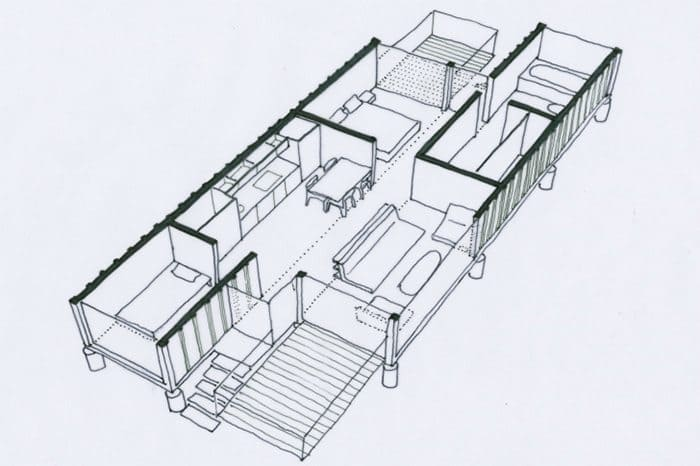 shipping container home 14