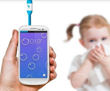 smartphone thermometer