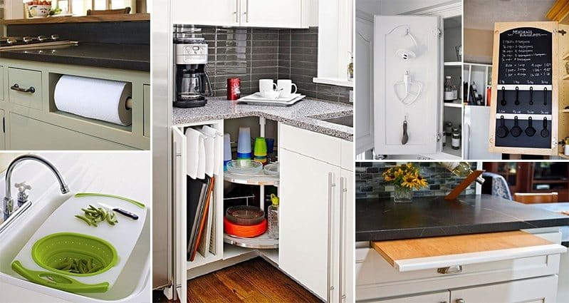 17 space saving ideas for your kitchen - Archietechtural kitchen design space saving ...