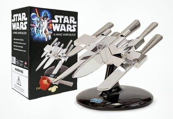 star wars x wing knife block box