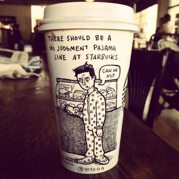 Josh Hara Has Put His Love For Coffee And Cartoons