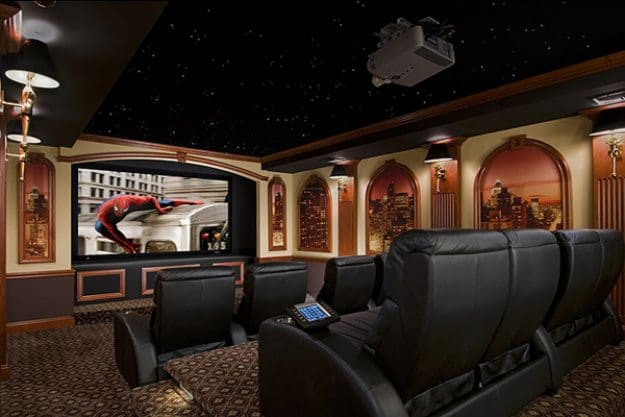 25 amazing home theaters anyone would love to own Home theater interior design ideas