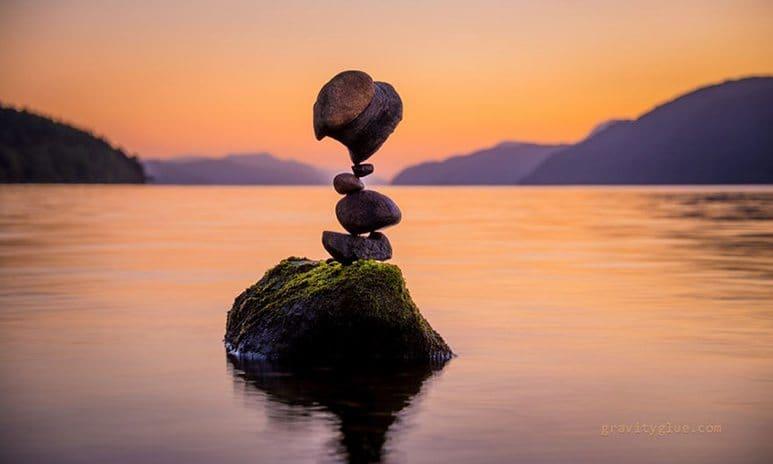 stone balancing art 10