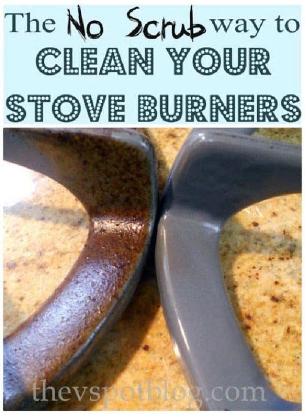 stove burners ammonia