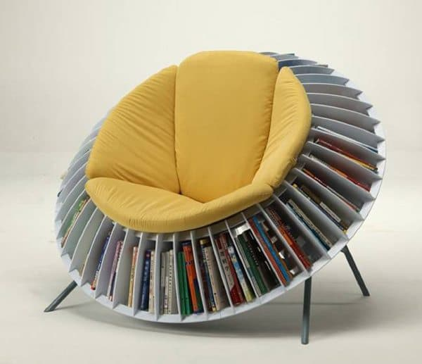 sunflower-chair-bookshelf