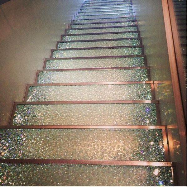 swarovski stairs