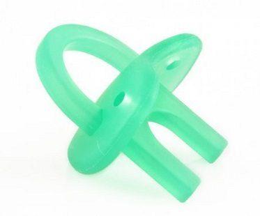 teething pacifier green