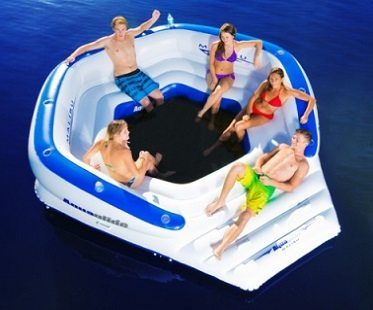 ten person inflatable lounger top
