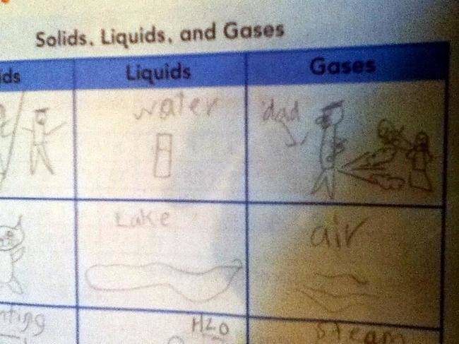 test answers by kids 6