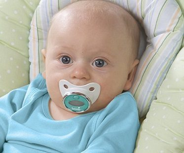 thermometer pacifier