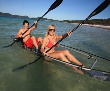 transparent kayak clear 2 person