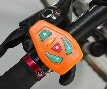 turn signal bike vest control