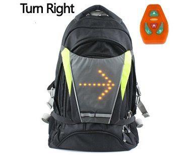 turn signal bike vest right