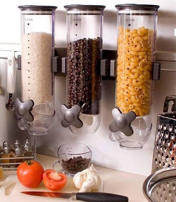 wall mounted food dispensers