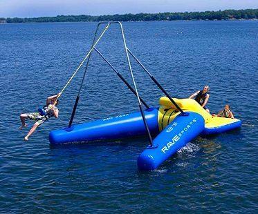 water rope swing