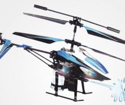water shooting helicopter