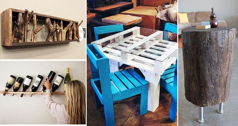 Creative Diy Ideas Using Wood For Your Home