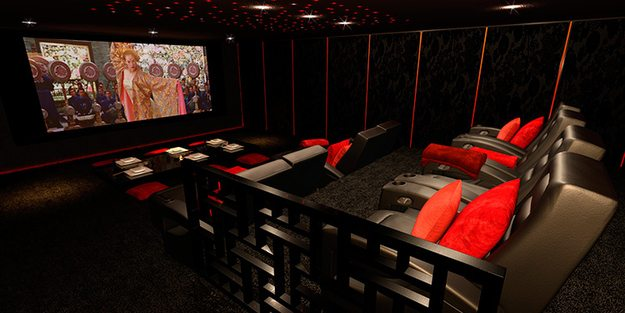 25 amazing home theaters anyone would love to own. Black Bedroom Furniture Sets. Home Design Ideas