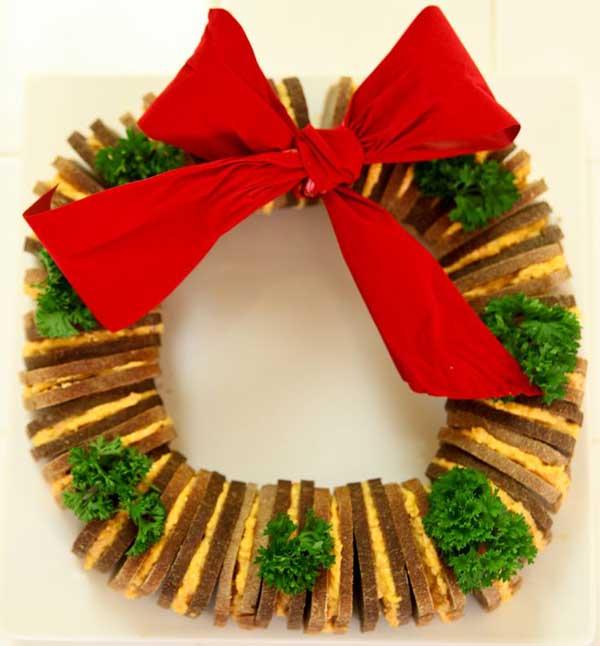sandwich wreath