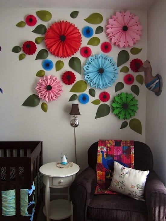 Wall art in versione creativa 10 spunti originali per le for Ideas de decoracion reciclando