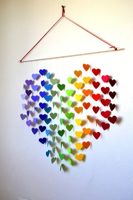 Bring your walls at home to life with these 21 diy 3d art for Art and craft for wall decoration