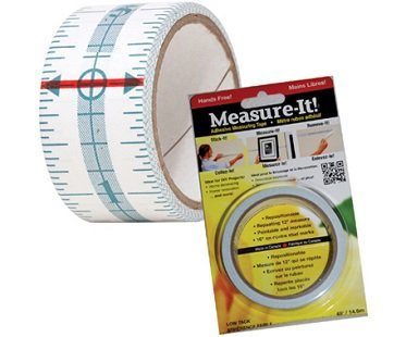 Adhesive Measuring Tape roll