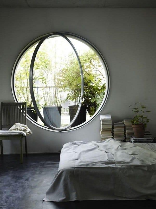Amazing Round Bedroom Window