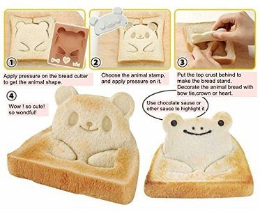 Animal Toast Stamp cutter
