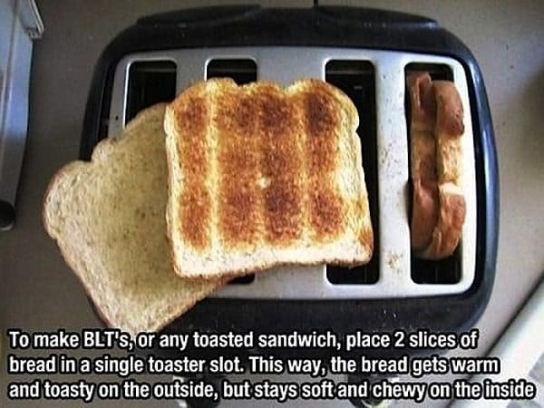 BLTs Toast your bread to perfection with this method