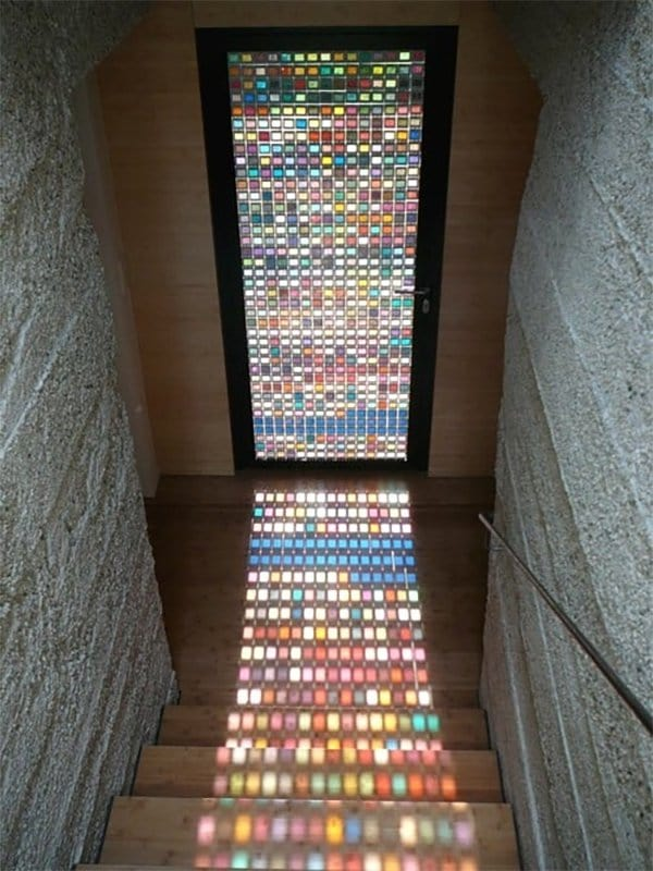 Beautiful Stained Glass door