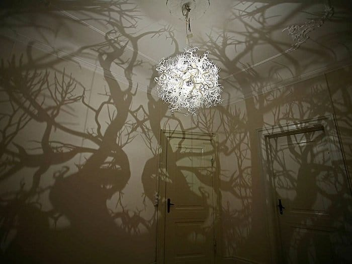Chandeliers That Turn A Room Into A Forest 2