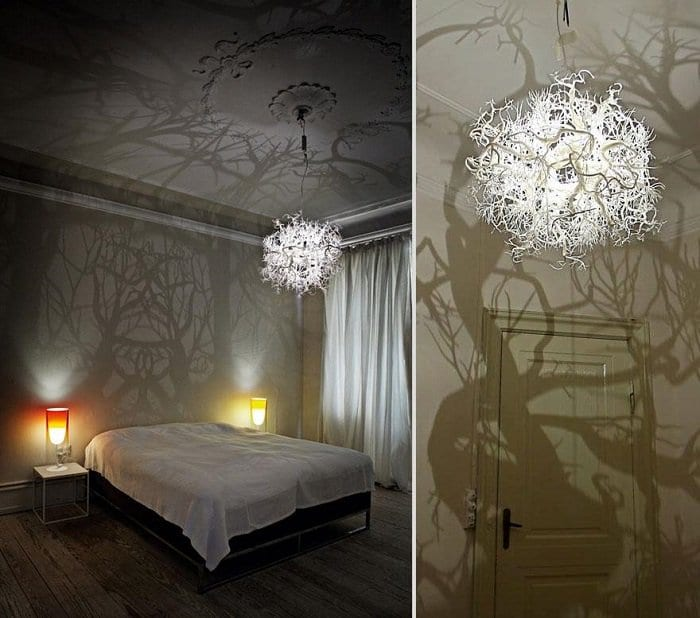 Chandeliers That Turn A Room Into A Forest 3