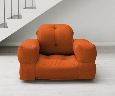 Awesome Convertible Futon Armchair Front