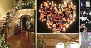 Creative Ways To Use Christmas Lights