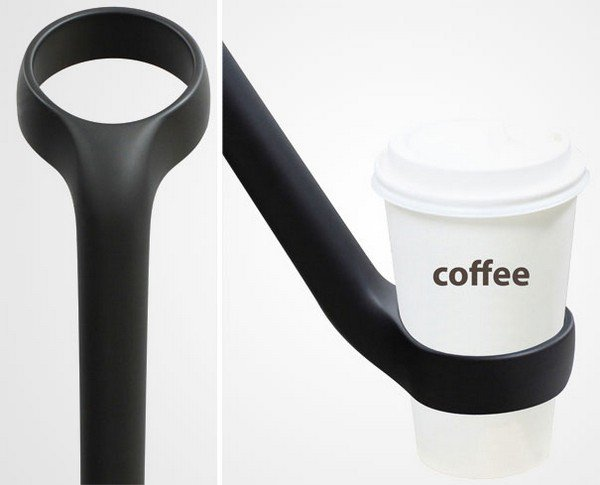 Cup Holder Umbrella close