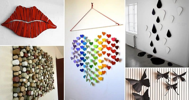 Bring your walls at home to life with these 21 diy 3d art for 3d art sculpture ideas