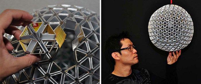 DIY Recycled TetraBox Lamp 3
