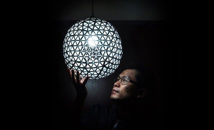 DIY Recycled TetraBox Lamp 4