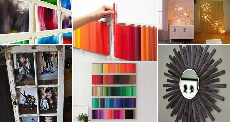 17 Stunning DIY Wall Art Projects You Will Love - Part 1