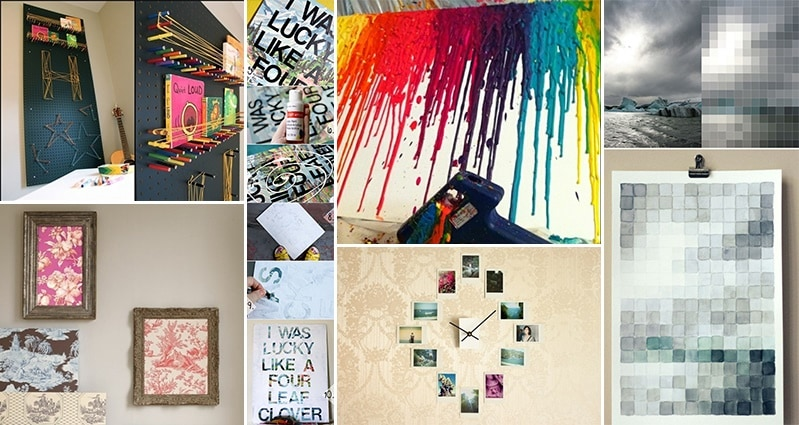 18 Stunning DIY Wall Art Projects You Will Love - Part 2
