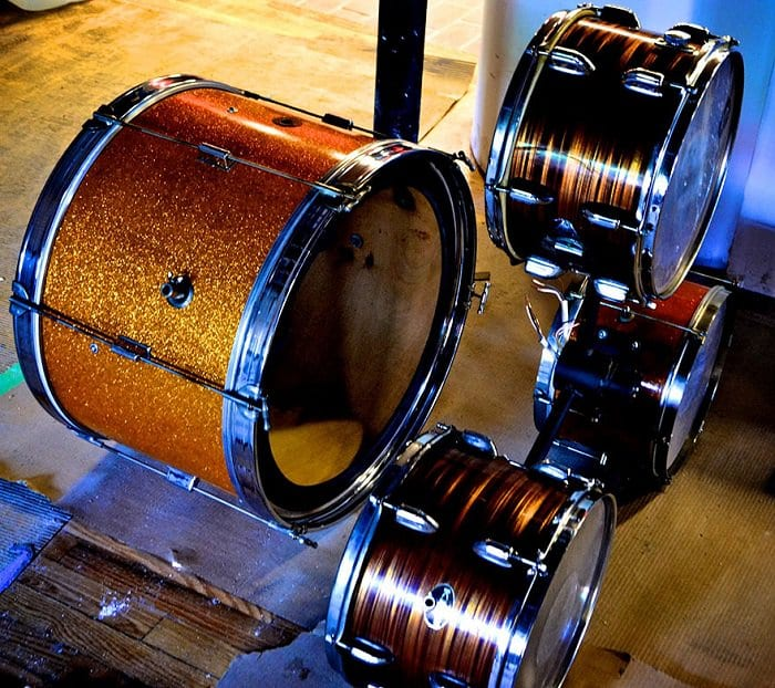 Drum Chandelier 1