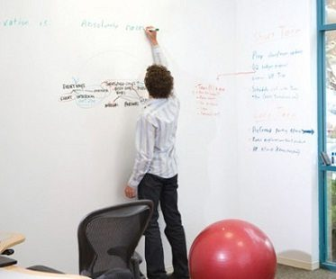 Dry Erase Board Wall Paint office