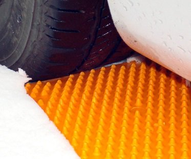 Emergency Tire Traction Mats