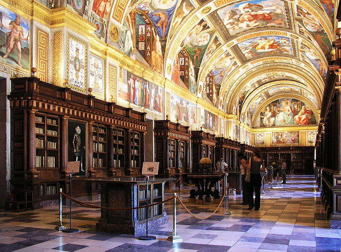 Escorial library