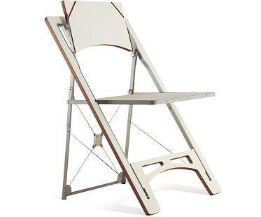 Fold Flat Chair white